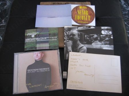 The Eccentric Electrics of ATOM™ & Friends: autographed CD and goodies :)
