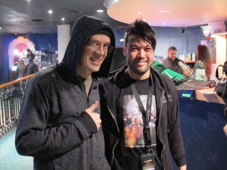 With Devin Townsend during VIP Meet&Greet