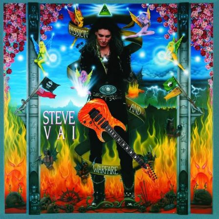 "Steve Vai : Variante de la pochette de ""Passion and Warfare 25th Anniversary Edition"""