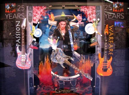 "Steve Vai : Guitare Universe édition limitée ""Passion and Warfare 25th Anniversary Edition"""