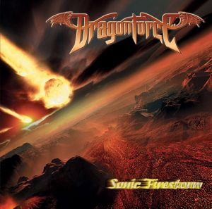 Dragonforce : Sonic Firestorm frontcover
