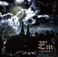 E'm〜grief〜 MAXI SINGLE「Atonality」(TYPE-B) : Cover (Promo Picture)