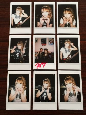 HIZAKI 「Crimson Rose -EUROPE-」 Chekis