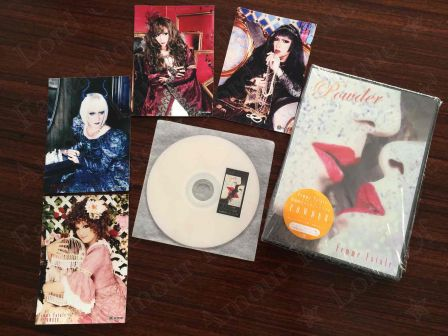 Femme Fatale Concept Single『POWDER』: CD with Photoset & Comment DVD from Jishuban Club and Photobook with autographs
