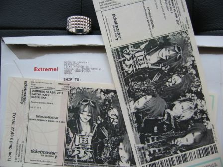 凛 -the end of corruption world- Concert Tickets: Live in Barcelona 2011