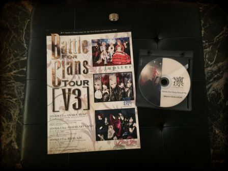 凛 -THE END OF CORRUPTION WORLD- 「Battle For Clans Tour 【V3】」 2014.6.12 OSAKA MUSE Official Bootleg Live DVD