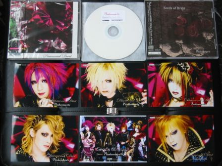 Phantasmagoria : Diamond Dust CD+DVD & Seeds of Brain CD & 自主盤倶楽部 (Jishuban Club) Awards