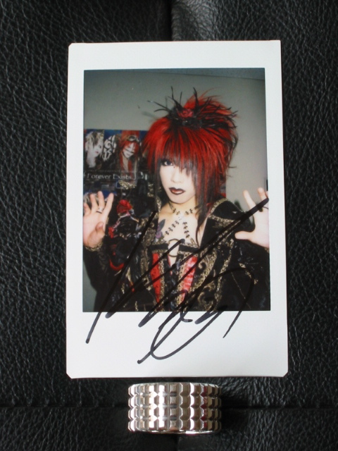凛 -the end of corruption world- 「As If Forever Exists.」 UNDER CODE Bonus Autographed Polaroïd : KISAKI cheki