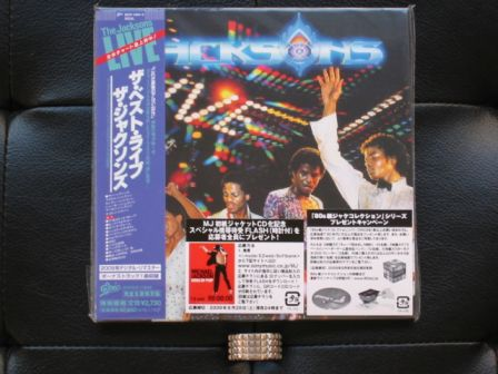 The Jacksons : Live : Japan miniLP 2009 NEW