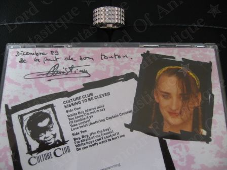 My very first CD of Culture Club