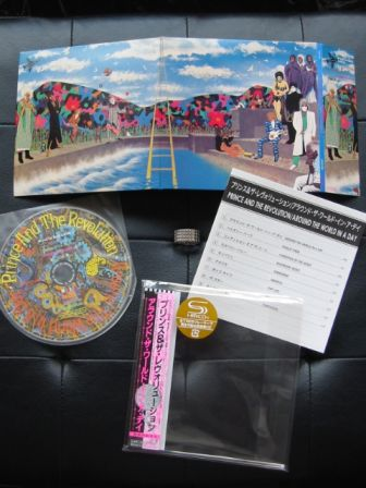 Around The World In A Day : miniLP Japanese reissue 2009