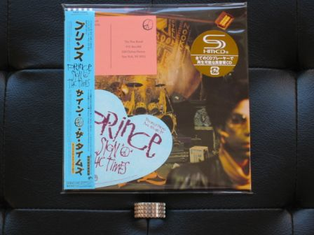 Sign 'O' The Times : miniLP Japanese reissue 2009