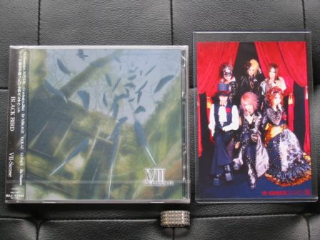 VII-Sense : BLACK BIRD CD+DVD with Zeal Link Photo Award