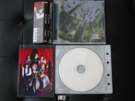 VII-Sense : BLACK BIRD CD+DVD with Zeal Link Awards