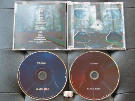 VII-Sense : BLACK BIRD CD+DVD : Inside