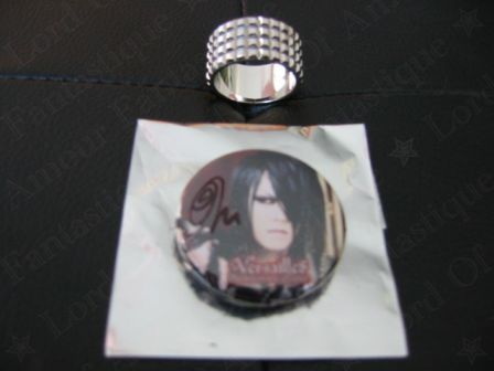 Versailles Philharmonic Quintet : Versailles World Tour 2012 – Holy Grail – Reincarnation : MASASHI autographed badge