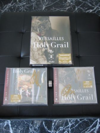 Versailles Philharmonic Quintet : Holy Grail CD+DVD: All 3 Versions