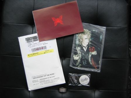Versailles Philharmonic Quintet : DESCENDANT OF THE ROSE World Fan Club : June 2010 items