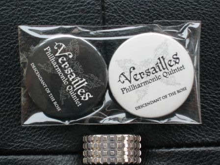 Versailles Philharmonic Quintet : DESCENDANT OF THE ROSE World Fan Club : June 2010 BADGES