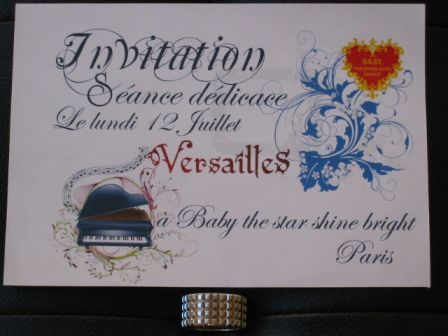 Versailles Philarmonic Quintet : Invitation to Signing at Baby The Stars Shine Bright Paris Shop