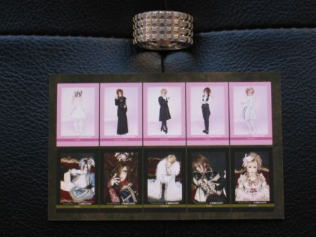 PRINCE & PRINCESS : display of all trading cards