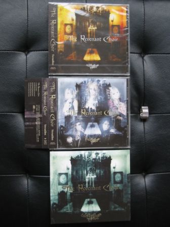 Versailles : The Revenant Choir : All Three Editions : Front