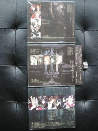 Versailles : The Revenant Choir : All Three Editions : Back