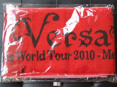 "Versailles World Tour 2010 ""Method of Inheritance"" : Red Towel"
