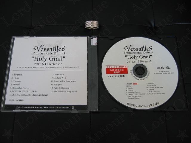 CDs & DVDs PROMO Versailles-philharmonic-quintet_holy-grail_promo-cd_2