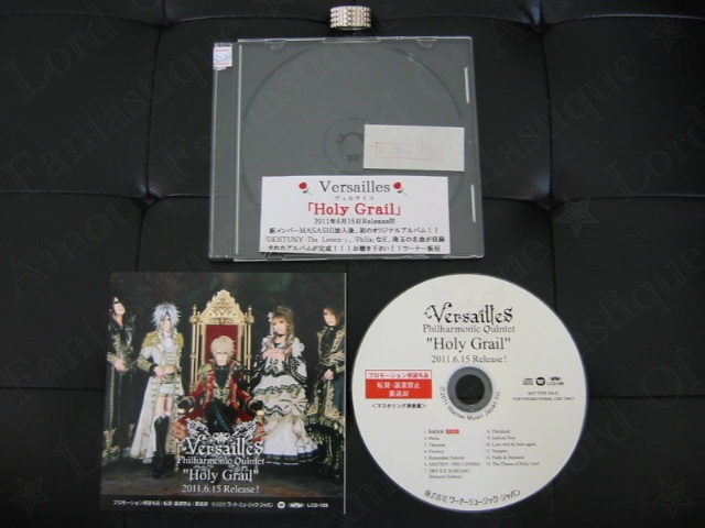 CDs & DVDs PROMO Versailles-philharmonic-quintet_holy-grail_promo-cd_3